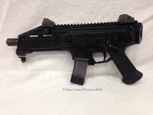A semi-auto pistol version of the famous Scorpion EVO 3 A1, this Scorpion is awesome on the range and makes a great home defense firearm.